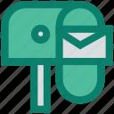 box, email, envelope, letter, post, postbox, seo