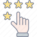 rating, stars, feedback, review