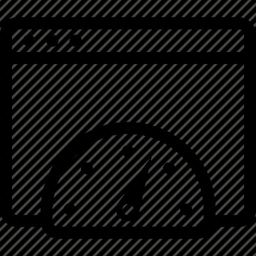 internet, optimization, seo, speed, test icon