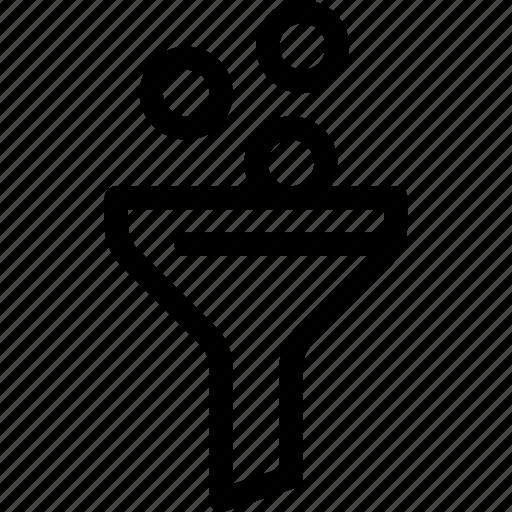 conversion, funnel, money, optimization, seo icon