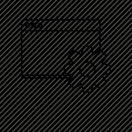 development, seo, web, web optimization icon