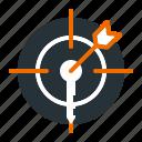 analysis, keyword, marketing, seo, target icon