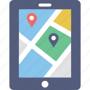 gps device, location online, mobile gps, mobile map, navigation icon