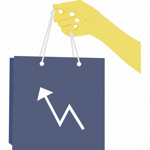 sales graph, sales growth, sales increase, sales progress, shopping graph icon