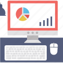 analysis, line graph, online graph, seo graph, statistics icon