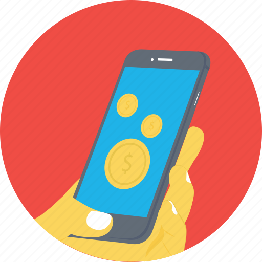 mobile in hand, mobile messaging, mobile usage, smartphone, touch screen icon