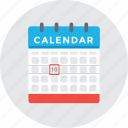 calendar, event, schedule, timeframe, timetable icon
