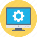 programming, web cog, web configuration, web development, web setting icon