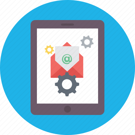 email marketing, online marketing, optimization, social email settings, social network icon