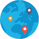 earth, global location, international location, map location, world icon