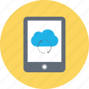 cloud computing, cloud sync, computing, icloud, technology icon
