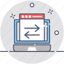 arrow indication, user interface, web arrows, web ui, website ui icon