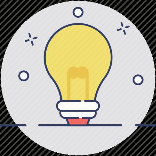 bulb, bulb idea, innovation, light bulb, solution icon