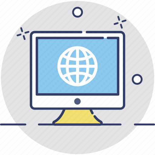 cyberspace, internet, network, sphere, technology icon