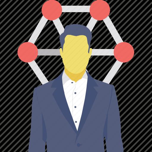 affiliate marketing, market network, social network, user, user network icon