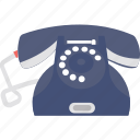 call us, contact us, landline, phone, retro phone icon