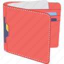 pocket purse, pocketbook, purse, saving, wallet icon