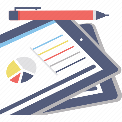analytical report, business analysis, business report, graph report, statistics icon