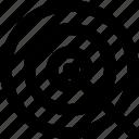 bullseye, dartboard, focus, goal, opportunity, target icon