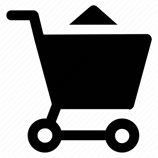 commerce, online shopping, shopping, shopping cart, shopping trolley icon