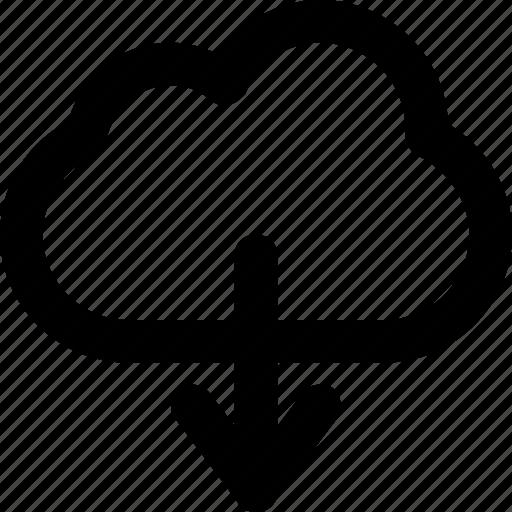 Cloud, cloud computing, computing, downloading, icloud icon - Download on Iconfinder