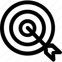 bullseye, dartboard, focus, goal, opportunity, target
