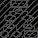 algorithm, api, block, coding, scheme, seo, software icon