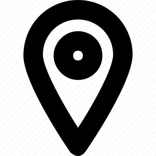 gps, location, map pin, pin, placeholder icon