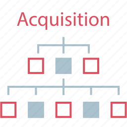 acquisition, data, seo, web icon