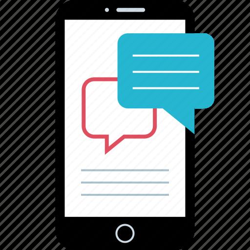 chat, mobile, seo, web icon