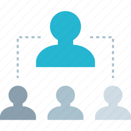 connect, connection, user, users icon