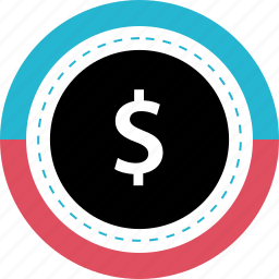 buy, dollar, now, sign icon