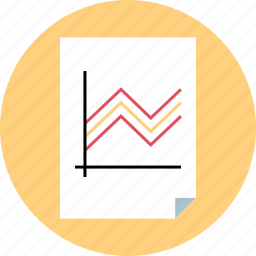 market, marketing, page, report icon