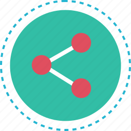 data, online, share, web icon