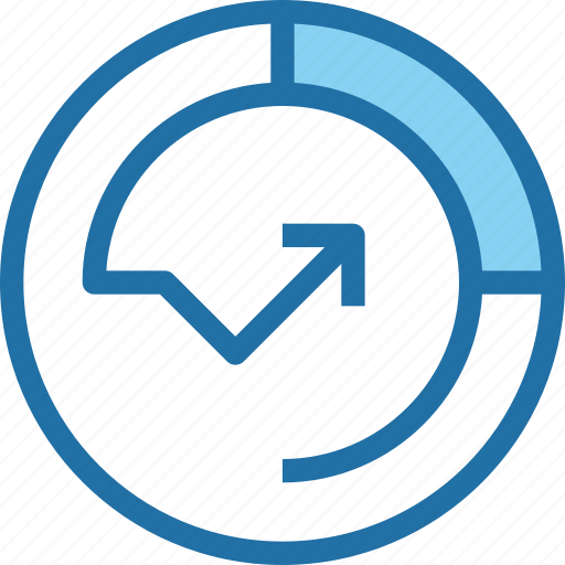arrow, business, data, database, growth, seo, up icon