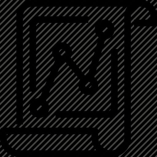 data, document, graph, report, seo, statistic icon