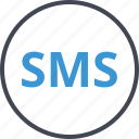 chat, message, seo, sms icon