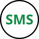 chat, seo, sms, talk icon