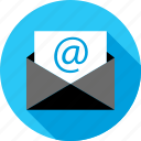 email, envelope, mail, message, online, seo, web icon