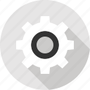 gear, online, option, seo, settings, setup, web icon