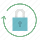 access, padlock, passkey, password, security icon