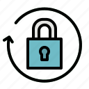 access, padlock, passkey, password, security icon