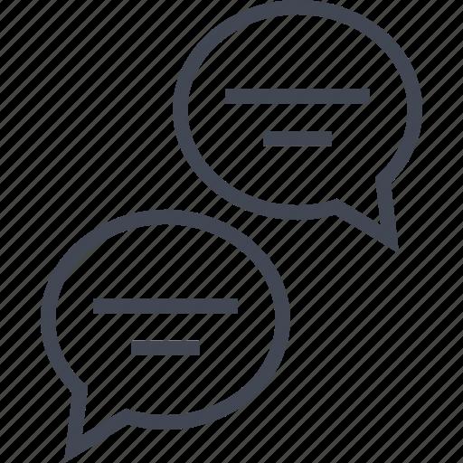 chatting, communication, conversation, talking icon