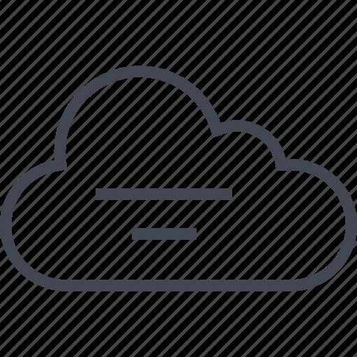 cloud, seo, storage, weather, web icon