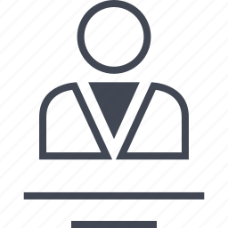 avatar, boss, business, man, person, user icon