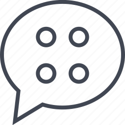 bubble, chatting, communication, conversation icon