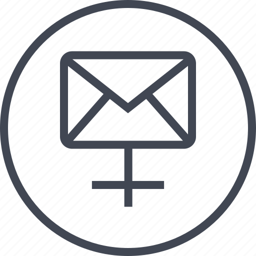 client, connect, email, mail, send, server icon