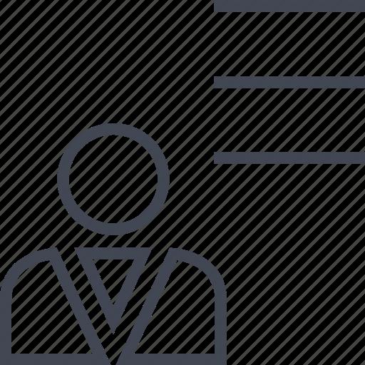 boss, liens, person, profile, user icon
