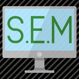 internet marketing, online marketing, search engine marketing, search engine optimization, seo icon