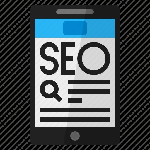 mobile website, online seo resource, seo, seo resource, seo website icon